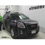 Thule  Roof Bike Racks Review - 2015 GMC Terrain