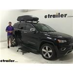 Thule Roof Box Review - 2014 Jeep Grand Cherokee