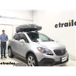 Thule Roof Box Review - 2015 Buick Encore