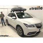 Thule Roof Box Review - 2016 Acura MDX
