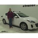 Thule  Roof Rack Review - 2012 Mazda 3