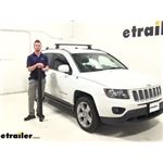 Thule Roof Rack Review - 2014 Jeep Compass