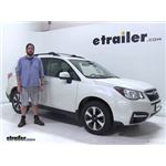 Thule  Roof Rack Review - 2018 Subaru Forester