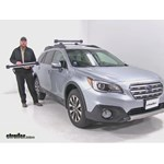 Thule Ski and Snowboard Racks Review - 2016 Subaru Outback Wagon