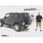 Thule  Spare Tire Bike Racks Review - 2015 Jeep Wrangler Unlimited