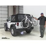 Thule  Spare Tire Bike Racks Review - 2016 Jeep Wrangler