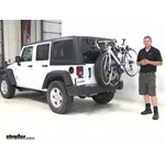 Thule  Spare Tire Bike Racks Review - 2016 Jeep Wrangler Unlimited