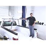 Thule TracRac SR Sliding Truck Bed Ladder Rack Review