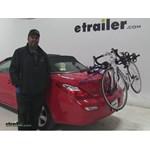 Thule  Trunk Bike Racks Review - 2008 Toyota Solara