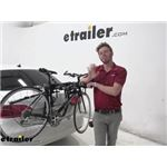 Thule Trunk Bike Racks Review - 2013 Volkswagen Jetta