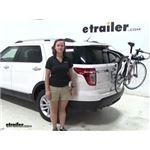 Thule  Trunk Bike Racks Review - 2014 Ford Explorer