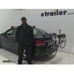 Thule  Trunk Bike Racks Review - 2015 Chevrolet Cruze
