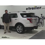 Thule  Trunk Bike Racks Review - 2015 Ford Explorer