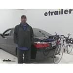 Thule  Trunk Bike Racks Review - 2015 Honda Accord