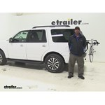 Thule  Trunk Bike Racks Review - 2016 Ford Expedition