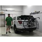 Thule  Trunk Bike Racks Review - 2016 Ford Explorer