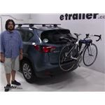 Thule  Trunk Bike Racks Review - 2016 Mazda CX-5