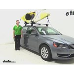 Thule  Watersport Carriers Review - 2015 Volkswagen Passat