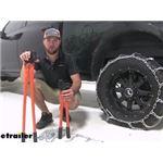 Titan Chain Heavy Truck Snow Tire Chains Repair Pliers Review
