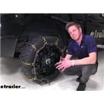 Titan Square Link Snow Chains with Cam Tighteners Review