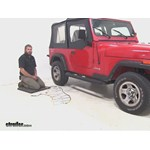 Titan Chain  Tire Chains Review - 1995 Jeep Wrangler