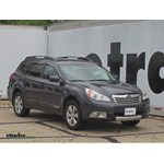 WeatherTech Side Window Air Deflectors Installation - 2010 Subaru Outback Wagon