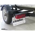 Wesbar Submersible Low Profile Driver Side Trailer Tail Light Installation