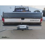 Westin Surestep Rear Bumper with Installation Kit Review