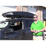 Yakima CBX Solar Rooftop Cargo Box Review