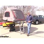 Yakima EasyRider Trailer with SkyRise HD Tent Review