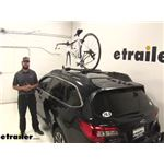 Yakima ForkLift Roof Bike Racks Review - 2015 Subaru Outback Wagon