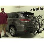 Yakima  Hitch Bike Racks Review - 2014 Toyota Highlander