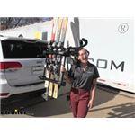 Yakima HitchSki Hitch Mounted Bike Rack Snowboard and Ski Carrier Review