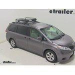 Yakima LoadWarrior Roof Cargo Basket Review - 2014 Toyota Sienna