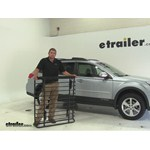 Yakima LoadWarrior Roof Cargo Carrier Review - 2014 Subaru Outback Wagon
