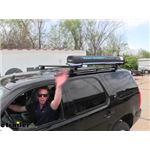 Yakima RoadShower Portable Roof Rack Solar Shower Review