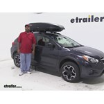 Yakima RocketBox Pro Roof Cargo Carrier Review - 2014 Subaru XV Crosstrek