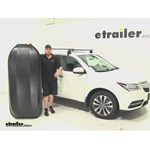 Yakima RocketBox Pro Roof Cargo Carrier Review - 2016 Acura MDX