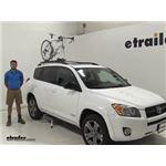 Yakima  Roof Bike Racks Review - 2012 Toyota RAV4