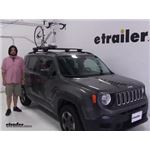Yakima  Roof Bike Racks Review - 2017 Jeep Renegade