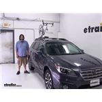 Yakima  Roof Bike Racks Review - 2017 Subaru Outback Wagon