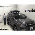 Yakima Roof Box Review - 2012 Toyota 4Runner