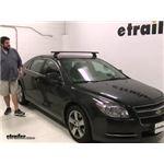 Yakima  Roof Rack Review - 2011 Chevrolet Malibu