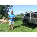 Yakima Roof Rack Mount SlimShady Awning Review and Installation
