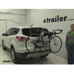 Yakima  Trunk Bike Racks Review - 2013 Ford Escape