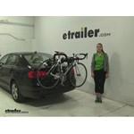 Yakima  Trunk Bike Racks Review - 2013 Volkswagen Jetta