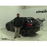 Yakima  Trunk Bike Racks Review - 2014 Subaru XV Crosstrek