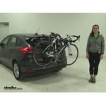 Yakima  Trunk Bike Racks Review - 2015 Ford Focus Hatch Back