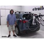 Yakima  Trunk Bike Racks Review - 2016 Mazda CX-5