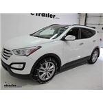 Titan Cable Snow Tire Chain Installation - 2014 Hyundai Santa Fe